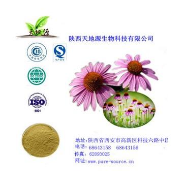 紫錐菊黃綠色提取物多酚
