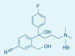 4-[4-(二甲氨基)-1-(4-氟苯基)-1-羟丁基]-3-羟甲基苯腈氢溴酸盐