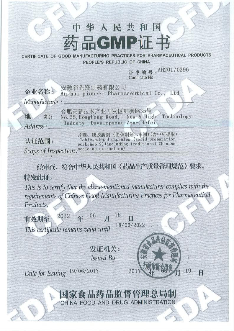 片劑硬膠囊劑GMP
