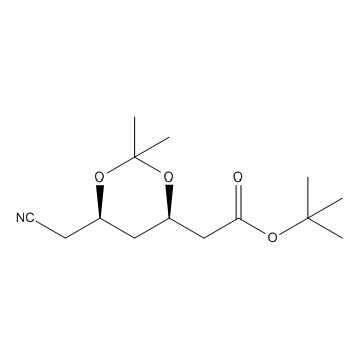 (4R-Cis)-6-氰基-2,2-二甲基-1,3-二氧戊环乙酸叔丁酯(ATS-8)