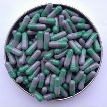 3# 綠/灰 羅賽洛明膠空心硬膠囊