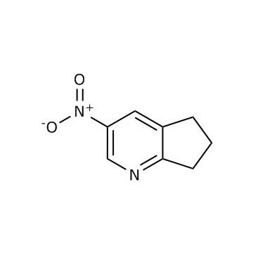 3-硝基-6,7-二氢-5-氢-环戊烷[B]吡啶