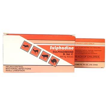 磺胺嘧啶丸