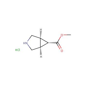 甲基外-3-氮杂双环[3.1.0]己烷-6-羧酸乙酯盐酸盐