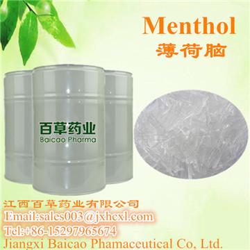 专业生产天然薄荷脑 L-薄荷醇 薄荷