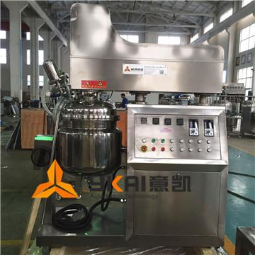 意凱供應ZJR-50L高剪切分散乳化機 水油鍋 電加熱乳化機