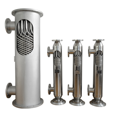 螺旋缠绕管式热交换器