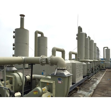 PPH纏繞環保廢氣處理