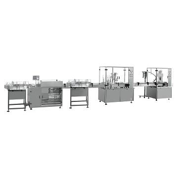 GSCX-1型30ml-500ml大容量灌装生产联动线