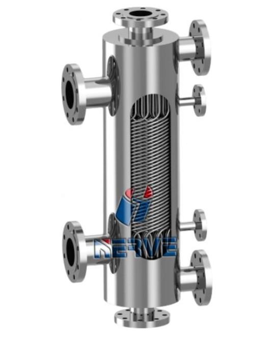 NV-双股流不锈钢缠绕式换热器