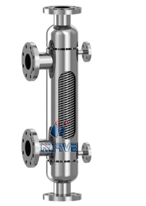 NV-双管板式不锈钢缠绕式换热器