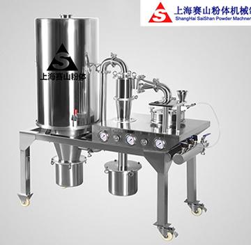 实验室专用小型圆盘式气流粉碎机