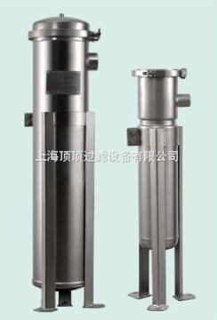上海不锈钢单袋式过滤器抱箍式精密滤芯式过滤器