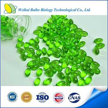 GMP Certified Health Food Aloe Vera Softgel Slimming Natural Aloe Vera Soft Capsules