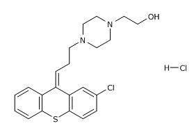 2-[4-[(3Z)-3-(2-Chloro-thioxanthen-9-ylidene)-propyl]piperazin-1-yl]-ethanol HCl