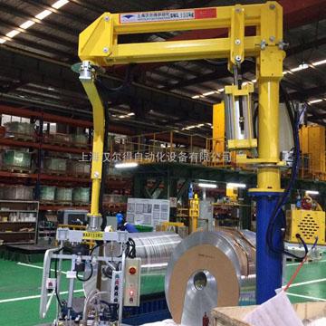 鋁卷助力平衡吊、硬臂式助力機械手吸盤吊具