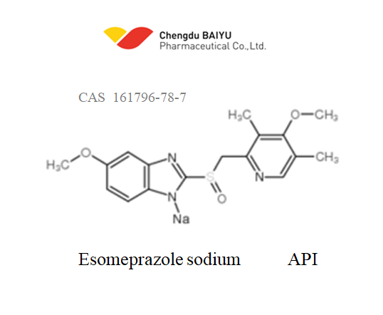 Esomeprazole sodium API (under development)