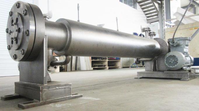 高粘度连续流反应器