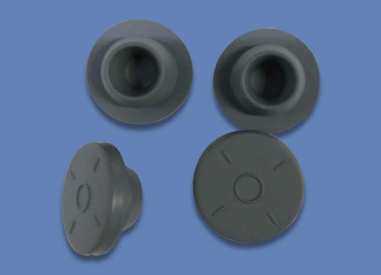 無菌粉末用鹵化丁基膠塞