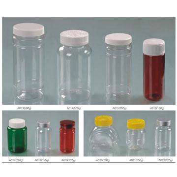 保健品口服固體藥用聚酯瓶系列