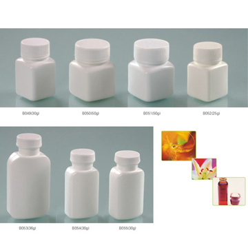口服固體藥用高密度聚乙烯瓶方瓶