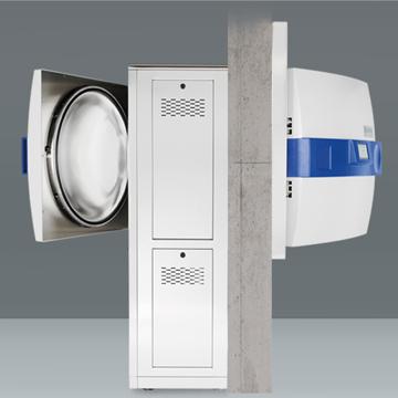 雙扉穿墻式滅菌器 Systec H 系列 2D