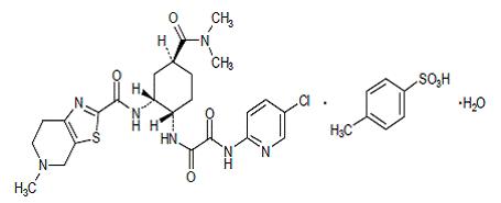 甲苯磺酸依度沙班