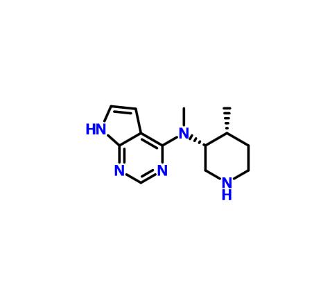 N-methyl-N-[(3R,4R)-4-methylpiperidin-3-yl]-7H-pyrrolo[2,3-d]pyrimidin-4-amine
