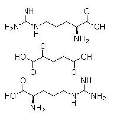 L-精氨酸 α-酮戊二酸盐(2:1)