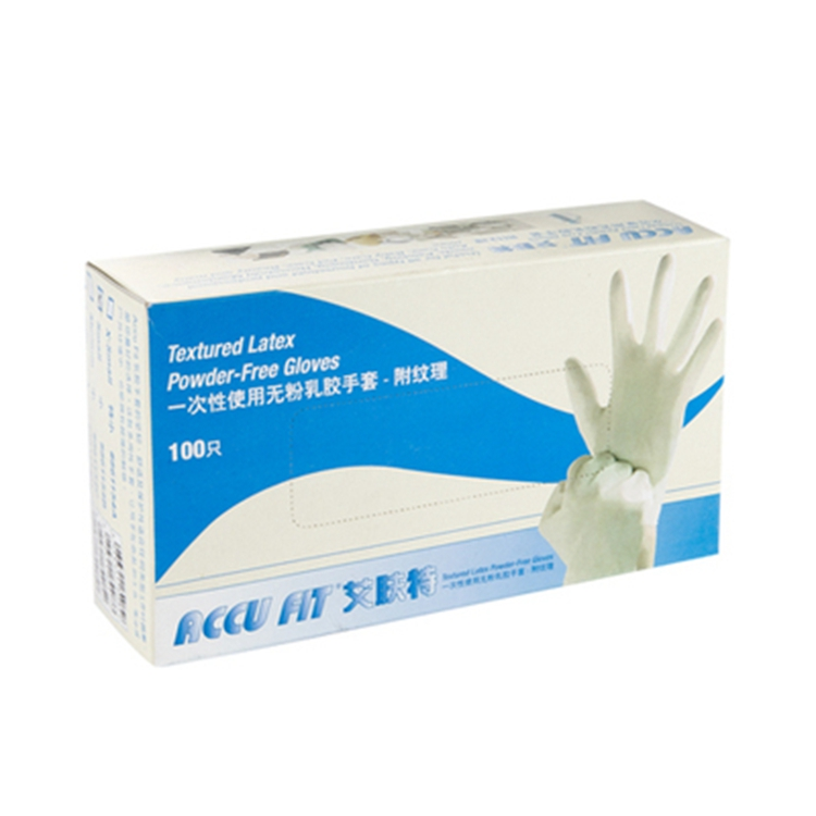 Accu Fit 一次性无粉乳胶手套