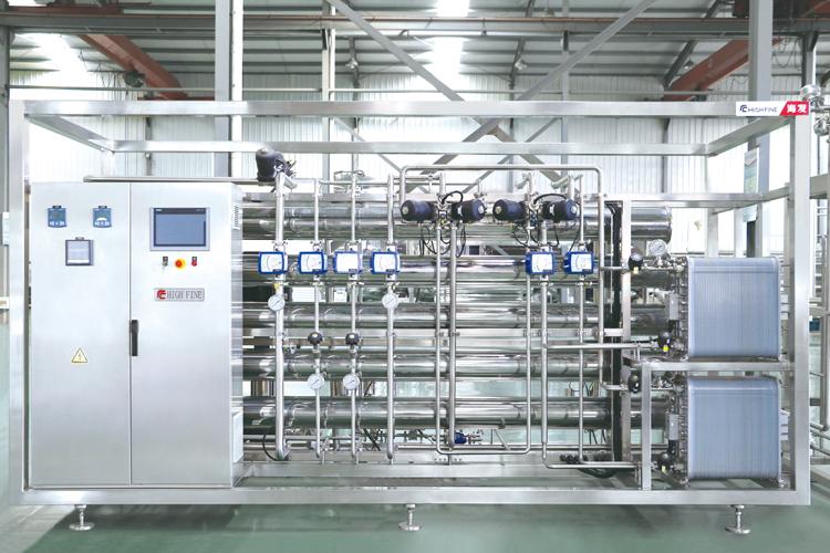 熱水消毒的純化水設備
