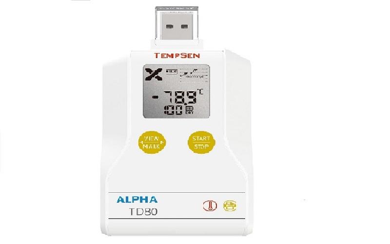 TD80重復使用干冰溫度記錄儀