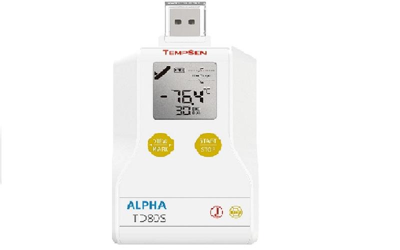 TD80S一次性干冰溫度記錄儀
