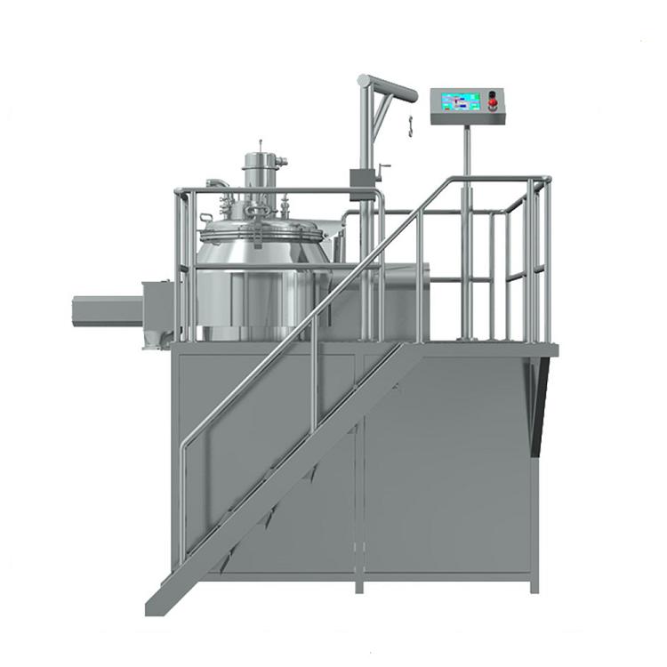 High shear wet mixer granulator