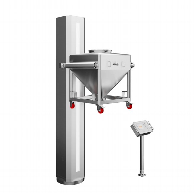 Automatic lifting feeder
