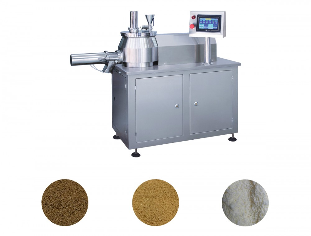 pellet powder mixing granulator wet granulation machine pharmaceutical