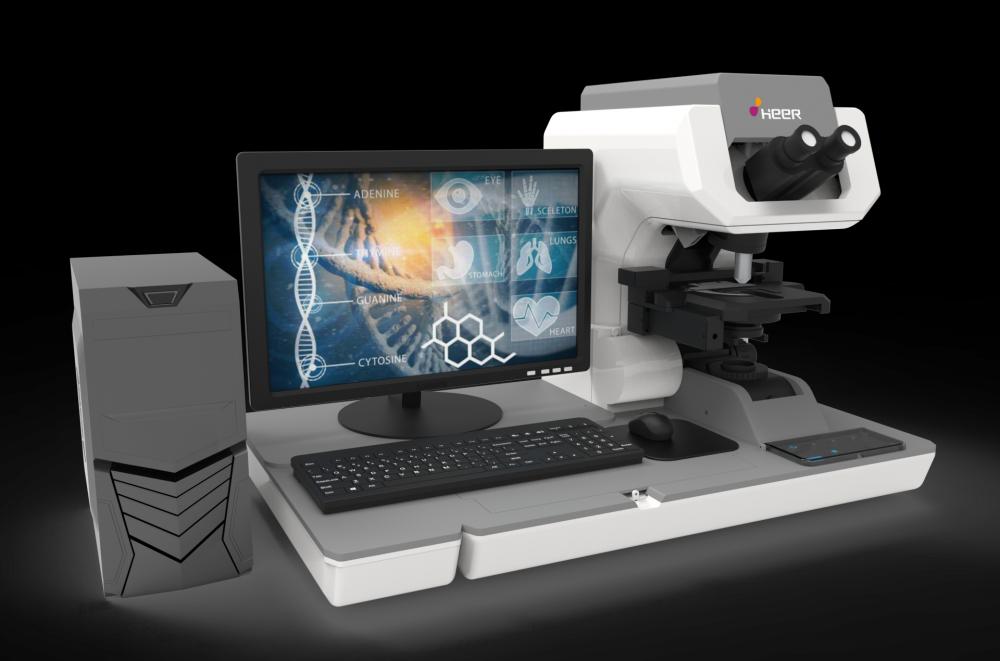 呵爾**療自動化讀取液基薄層宮頸細胞學玻片成像系統-300型