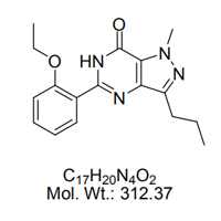 5-(2-乙氧苯基)-1-甲基-3-丙基-1,6-二氢-7H-吡唑并[4,3-D]嘧啶-7-酮