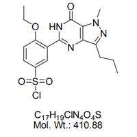 5-(5-氯磺酰基-2-乙氧基苯基)-1-甲基-3-丙基-1,6-二氢-7H-吡唑并[4,3-d]