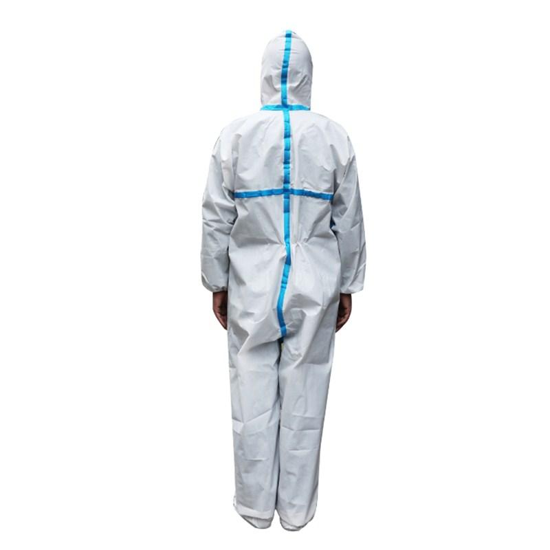 一次性S級無紡布防護服 PE覆膜 內銷出口 認證齊