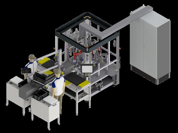 可變量胰島素筆和自動注射器半自動化生產系統001