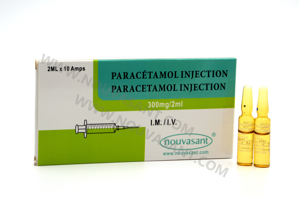 Paracetamol Injection 300mg/2ml 撲熱息痛注射液