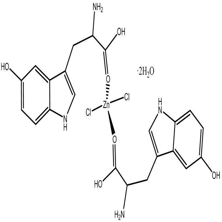 Coordination compounds of zinc(ll) with L-5-hydroxytryptophan
