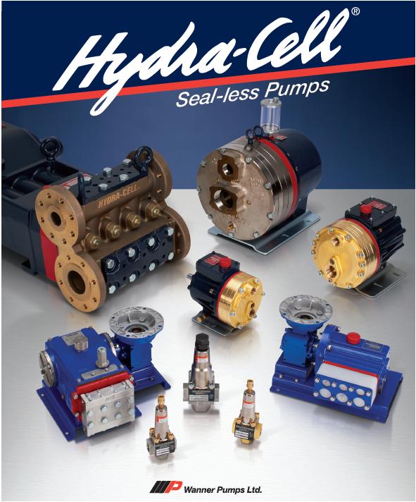 Hydra-cell 无密封高压隔膜泵