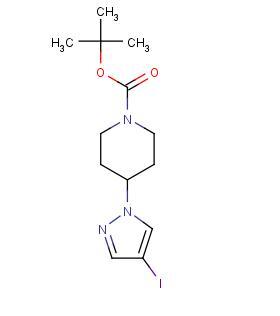 4-(4-碘-1H-吡唑-1-基)-1-哌啶羧酸-1,1-二甲基乙酯 TNK-2