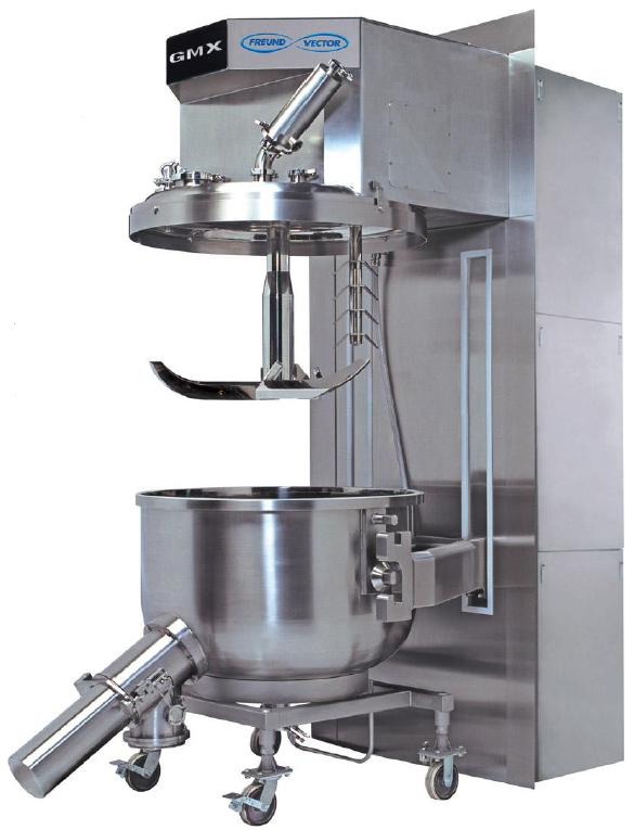 GMX Grenumeist高剪切制粒/混合机(GMX 顶驱型)