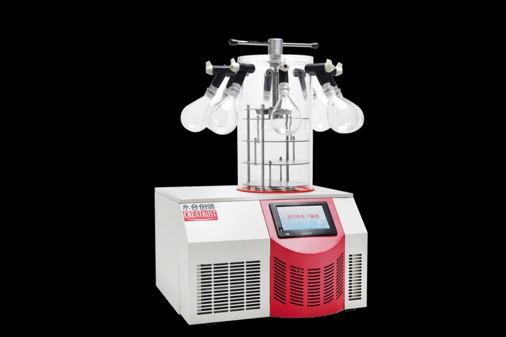 多歧管壓蓋型實驗室凍干機CTFD-10PT