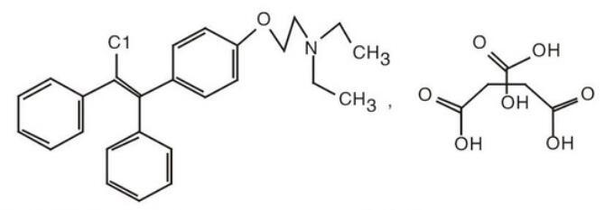 枸櫞酸氯米芬