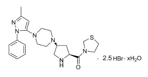 氫溴酸替格列汀
