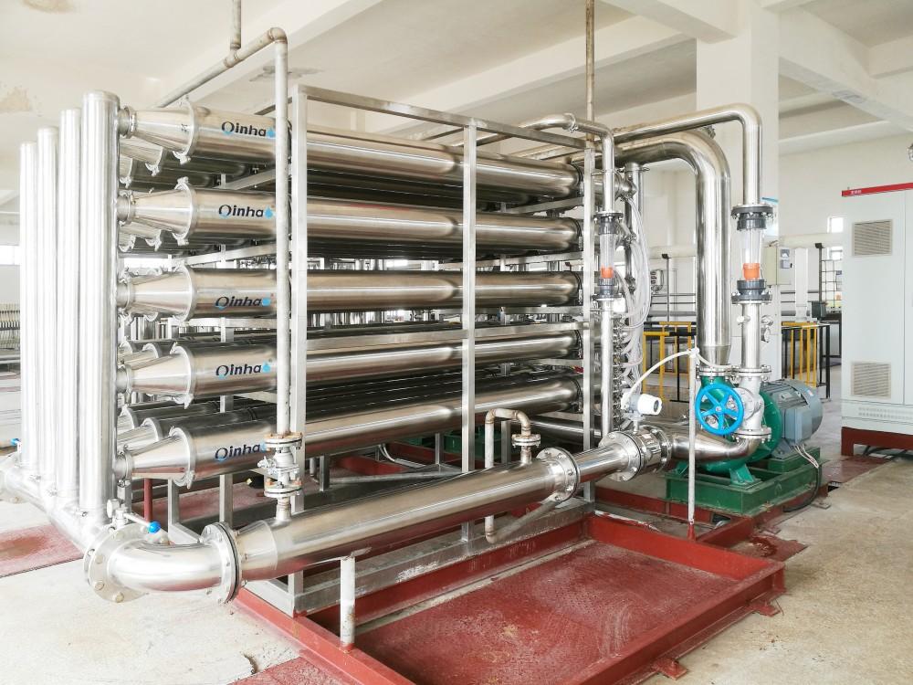 WSM抗污染微管膜系統